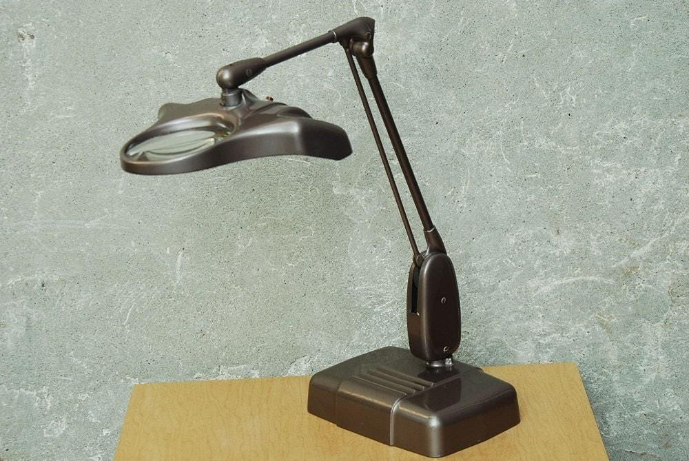 Vintage Dazor Jewelers Desk Lamp M 270