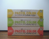 Riso Gocco Hi Mesh Ink - Japanese Pastel Colors (3 pack)