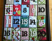 Advent Calendar Christmas Countdown Gift Boxes and Decoration