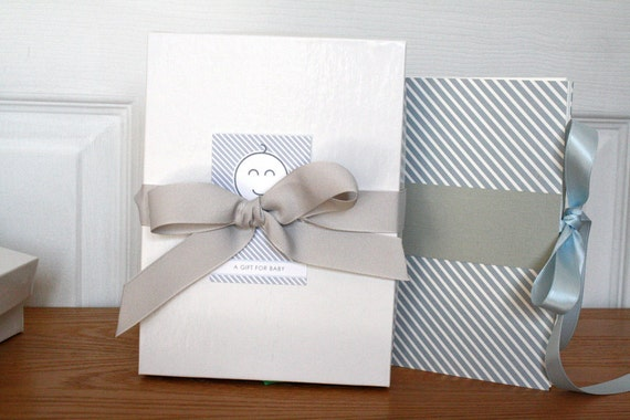 Add-On, Storage Gift Box, with ribbon and gift tag