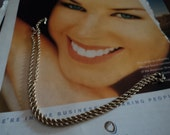 Vintage 14k Gold Rope Chain 20 Inch with Barrel Clasp