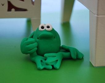 Polymer Clay Froggy
