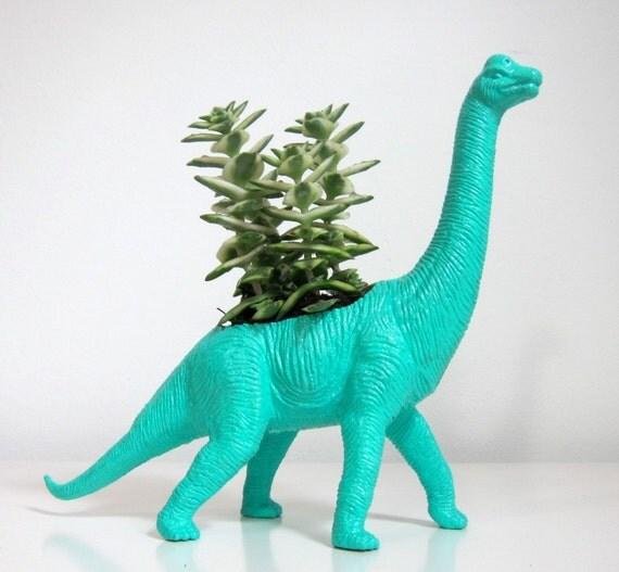 Winnie The Brachiosaurus Planter Succulent