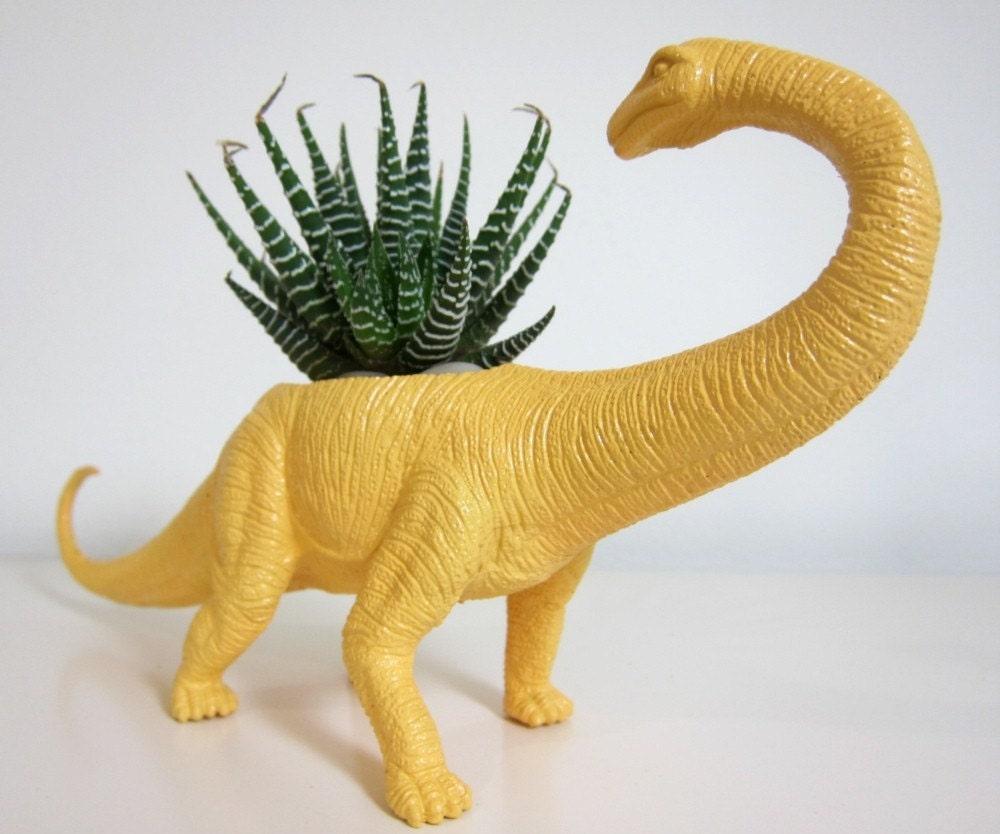 Beatrice The Apatosaurus Planter Succulent