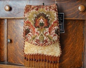 Chenille Tapestry Chain Bag Fall Tones