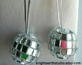 EARRINGS - Disco Ball Dangles
