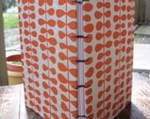 Orange Coptic Bound Blank Handmade Journal