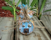 Up Cycled Beach Bum Bug, Recycled Furniture Parts, Quirky Gift, Souvenir, Yard Ornaments