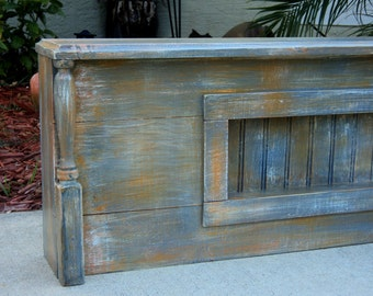 Rustic Furniture Full Headboard Etsy
