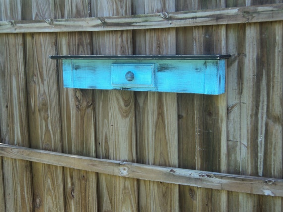 Rustic Mantle, Primitive Farmhouse Style Display Shelf, YOU CHOOSE COLOR, Made To Order