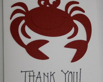 Crab Thank you cards