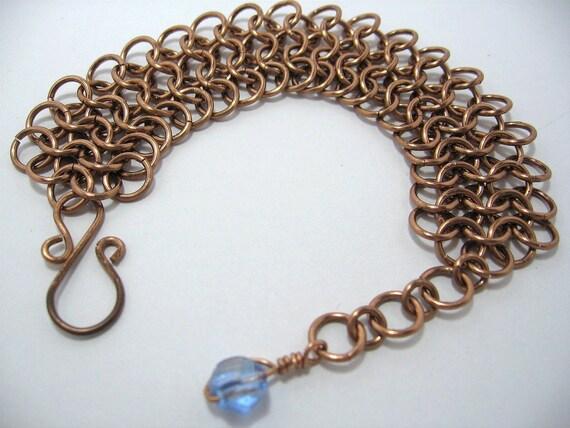 Bronze Bracelet Chainmaile, Chain mail bracelet