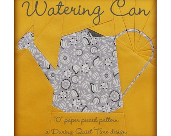 Watering Can Paper Pieced Pattern