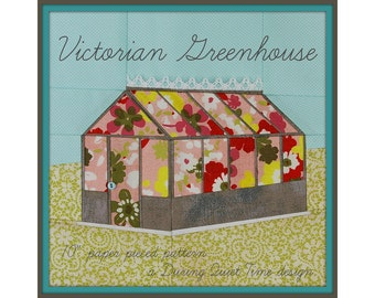 Victorian Greenhouse Paper Pieced Pattern