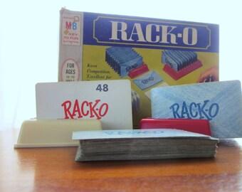 Vintage Racko Game by Milton Bradley 1966 Game