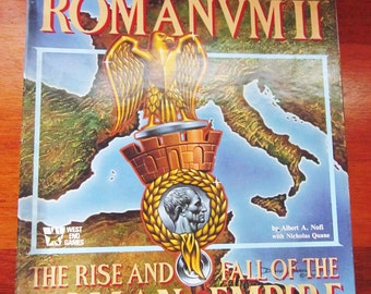 1985 Imperium Romanum II The Rise and Fall of the Roman Empire by West End Games