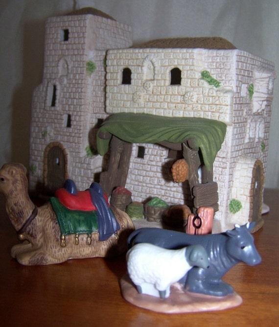 Dept 56 Little Town Of Bethlehem Nativity Series Set Of 12 In
