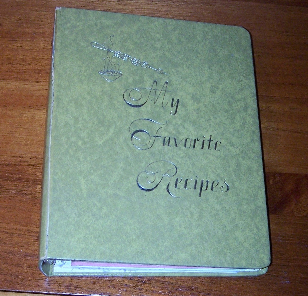 Do It Yourself Recipe Book Collection Vintage 3 Ring Binder
