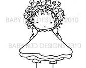 Digital Image Download 'CHLOE' Baby Bud