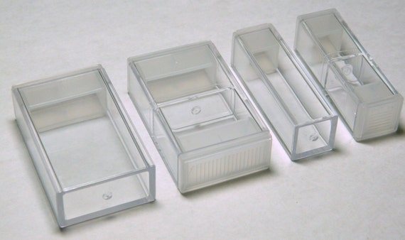 Jolee's Jewels Clear Storage Case Multiple Compartment Sizes for Crystals Beads Findings Etc.