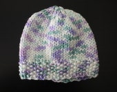 Sale - Lily Edition Knitted Newborn Baby Hat - READY TO SHIP