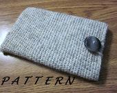 PATTERN - eReader Cover / Cozy / Case