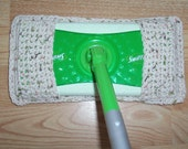 Crochet Swiffer Cover / 100% Cotton