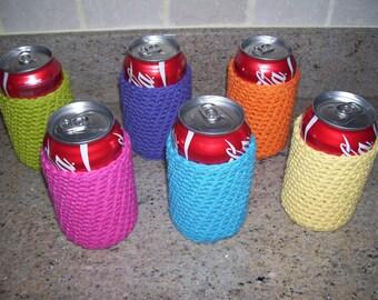 Can Cozy, Beer Cozy ... Set of 6
