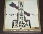 Original Malt Shop Coasters