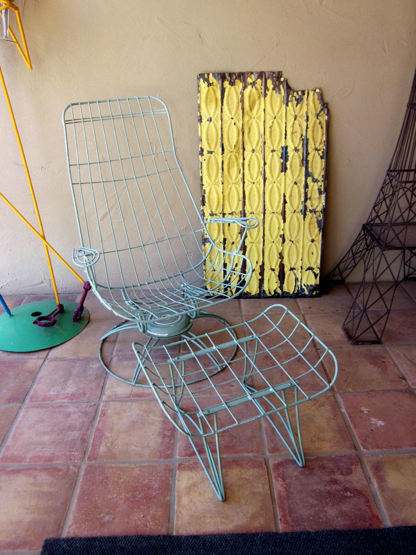 Vintage Homecrest Eames Era Bertoia Patio Furniture Homecrest