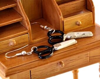 Miniature Scissors Earrings