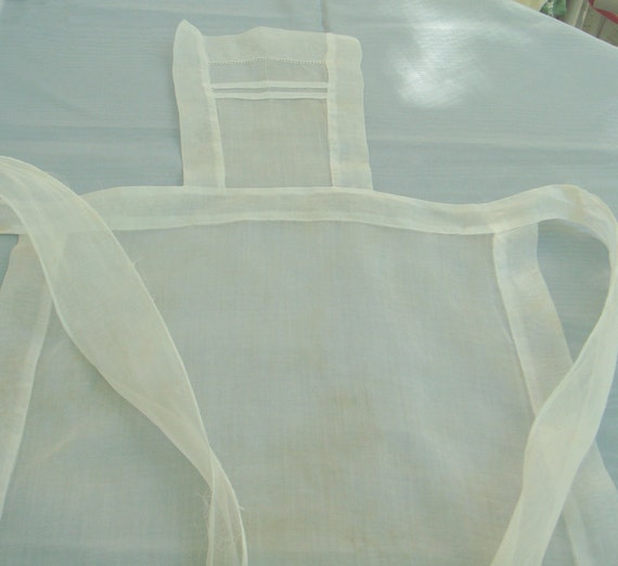 French Maid Full Apron 1930s