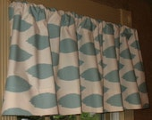 NEW Window Curtain Valance Premier Prints Village Blue Chipper