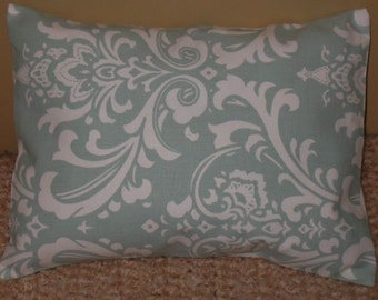 SALE Lumbar Pillow Cover 12 x 16 Osborne Blue White