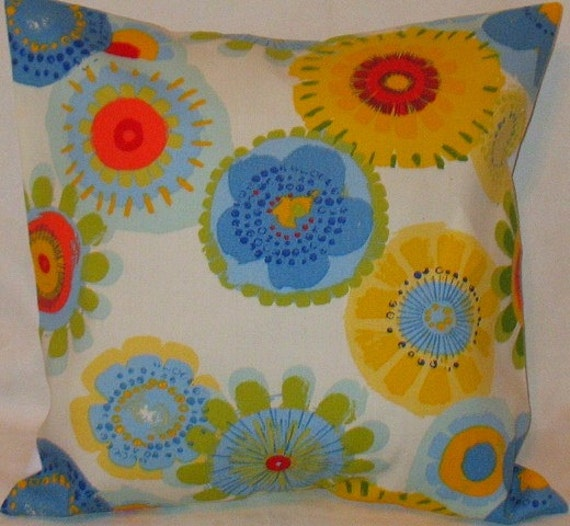 TWO 18 x 18 Pillow Cover White Confetti from Mill Creek