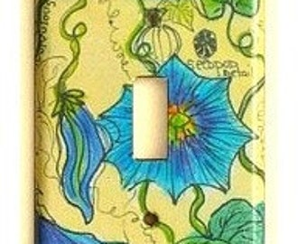 lightswitch cover   morning  glory