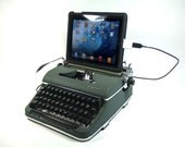 USB Typewriter Keyboard -- Olympia Portable with USB Port