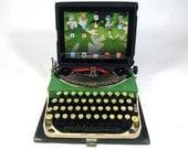 USB Typewriter Computer Keyboard -- for PC, Mac, iPad