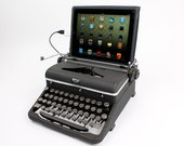 USB Typewriter -- Computer Keyboard and iPad Dock -- Royal Aristocrat c. 1945