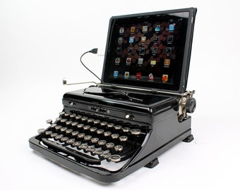 USB Typewriter -- Royal Model O from 1930s