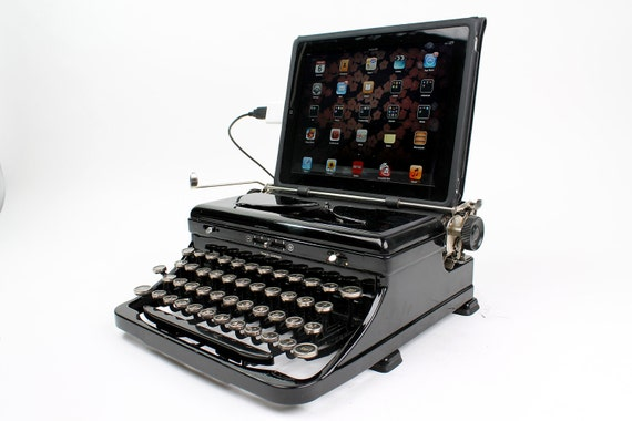 DISCOUNT USB Typewriter -- Royal Model O from 1930s
