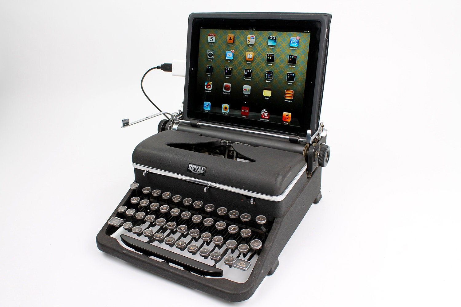 USB Typewriter Computer Keyboard and iPad Dock by ... | 1500 x 1000 jpeg 158kB