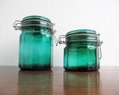 vintage jars set 2
