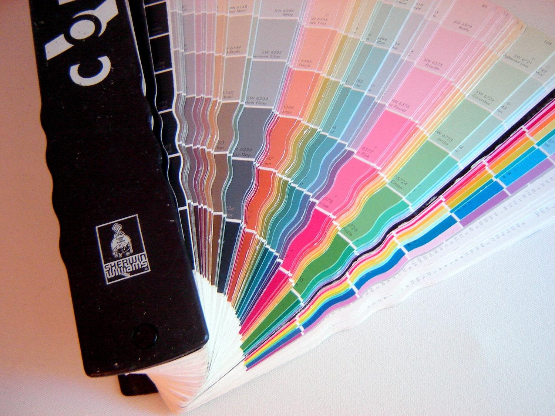 Artists Painters Color Wheel Fandeck Sherwin Williams Paint