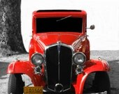 photo of RED 1934 PONTIAC  Hotrod 8x10