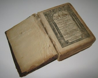 The New Covenant or The Saints Portion (and) The Saints Daily Exercise by John Preston   Very Rare 1629 book -