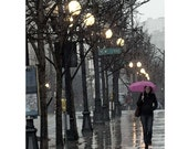 "Seattle Rain, Very Fine Art Photograph avaiable in: 5X7"", 8X10"", 11x14"" and as a note card with envelope!"