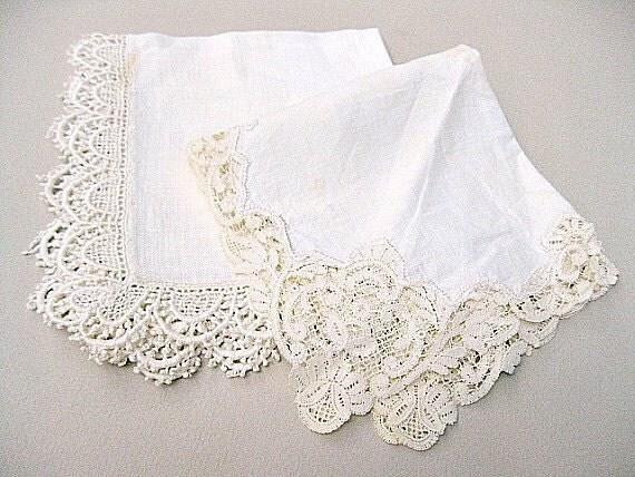 1000  images about Ladies Handkerchiefs! on Pinterest | Vintage ...