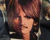 SALE Beatles Greeting Card George Harrison, Original paintings prints