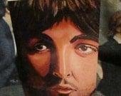 SALE Beatles Greeting Card Paul McCartney, Original paintings prints,